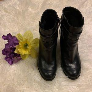 Franco Sarto Heel Booties